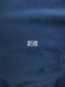 Solid Minky Fabric Navy Blue