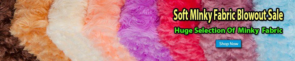 Cozy Minky Fabric