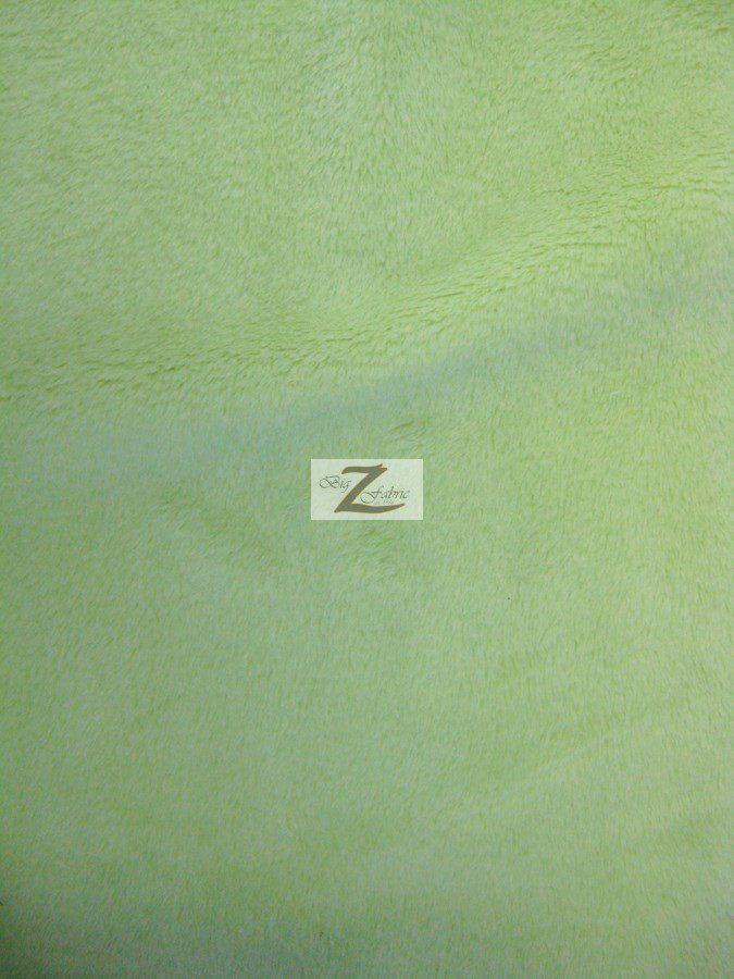 Asparagus Solid Soft Minky Fabric