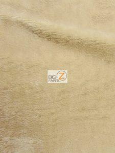 Solid Minky Fabric Khaki