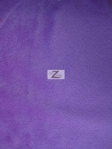 Solid Minky Fabric Purple