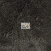 Shaggy Minky Baby Soft Fabric Black