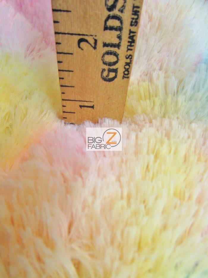 Shaggy Minky Baby Soft Fabric Close Up