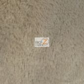 Shaggy Minky Baby Soft Fabric Gray