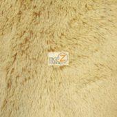 Shaggy Minky Baby Soft Fabric Light Camel