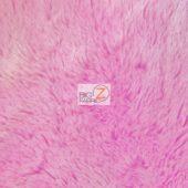 Shaggy Minky Baby Soft Fabric Pink