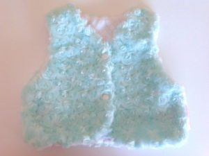 Comfy Minky Baby Vest