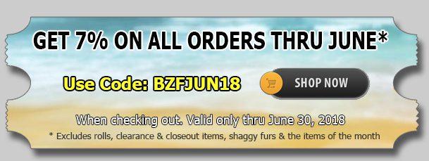 Minky Fabric: June 2018 Discount
