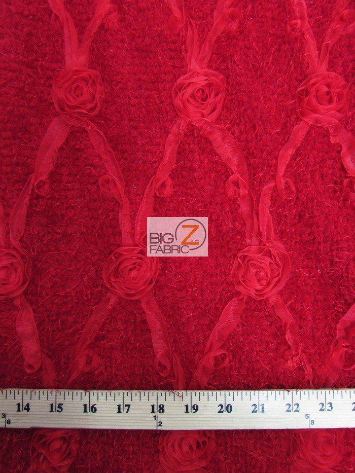 minky fabric, rosette