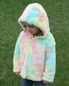cozy minky rainbow shaggy